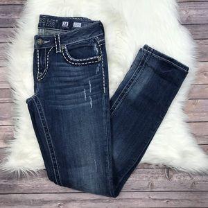 Miss Me Sunny Straight Leg Jeans 28